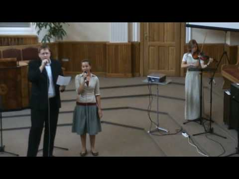 Este oare iertare? (Stefan & Sarah; vioara- Marcela, pian- Claudiu)