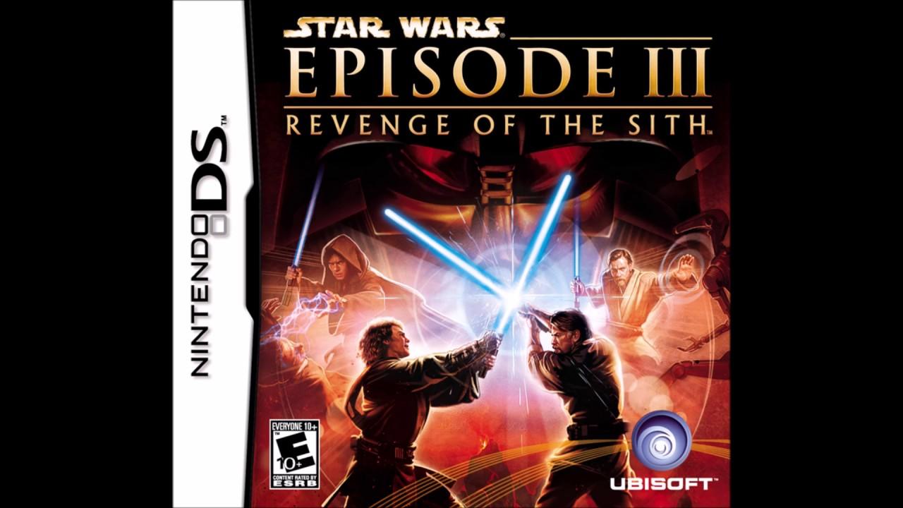 Star Wars Revenge Of The Sith Nintendo Ds Soundtrack 17 Youtube