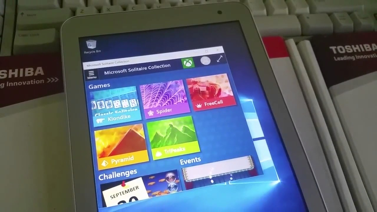 Toshiba Encore 2 Tablet upgrade from Windows 8 1 - Clean install Windows 10  Home