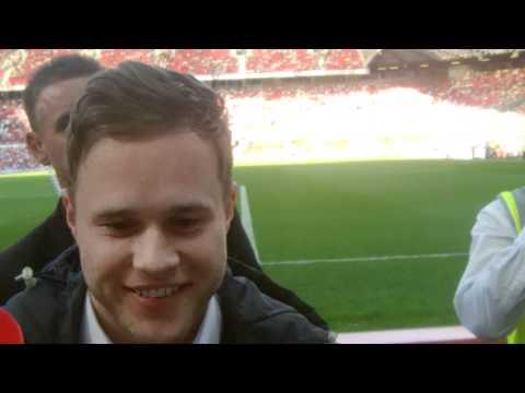 Olly Murs Soccer Aid 2012