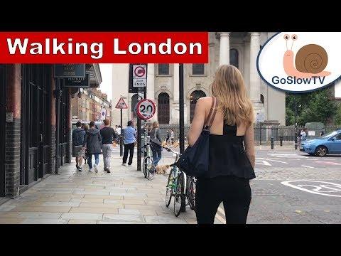 Walking From Liverpool Street to Spitalfields Market | London | Slow TV | Episode 3 | By GoSlowTV