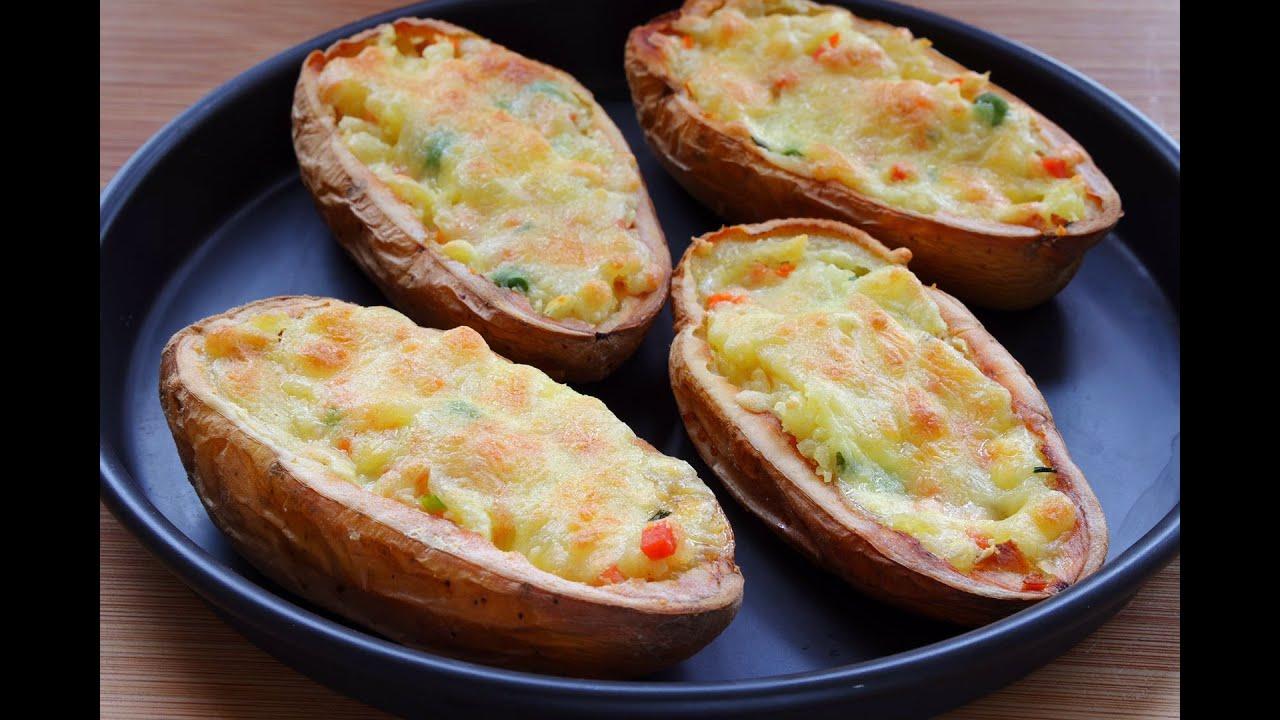 【芝士土豆船】土豆懶人吃法,不燉不炒,當飯又當菜,好吃又拉絲,小朋友的最愛