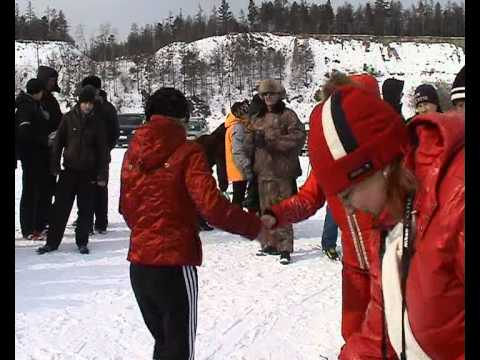 Лыжи на Байкале