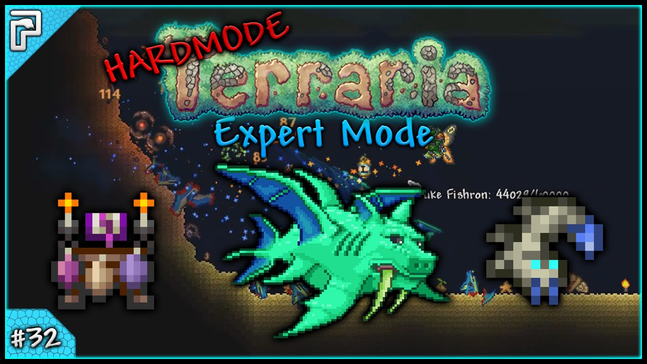 Lets Play Terraria 13 Expert Mode Pc The Ocean War Against