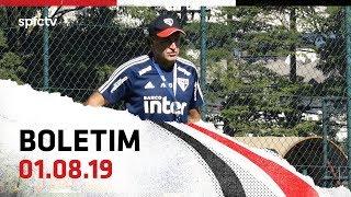 BOLETIM DE TREINO: 01.08   SPFCTV