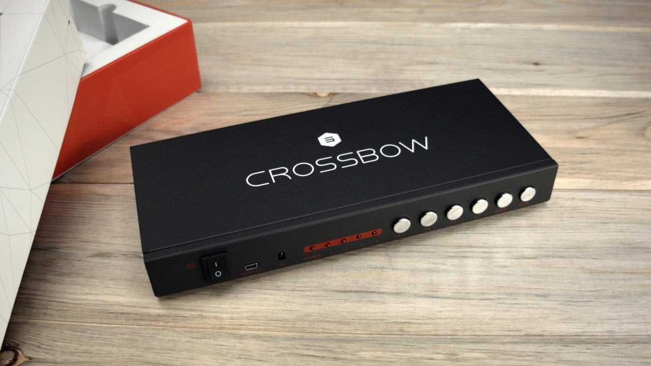 Crossbow by Salt - 4x1 Seamless HDMI Switch