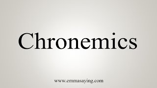 How To Say Chronemics Youtube Does the way we perceive time affect technology design? how to say chronemics
