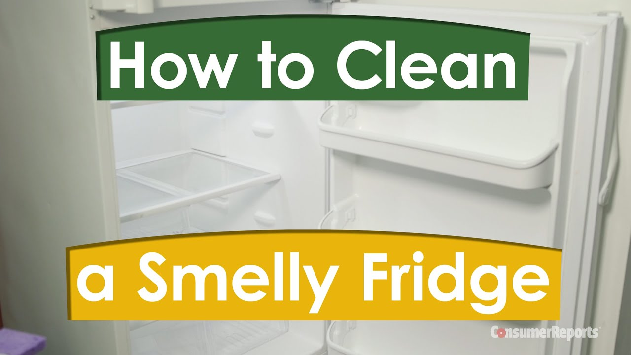 how to clean a smelly fridge consumer reports youtube. Black Bedroom Furniture Sets. Home Design Ideas
