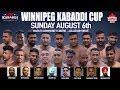 Winnipeg Kabaddi Cup - CANADA KABADDI 2017