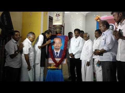 Vaiko at MDMK party activist meeting at North Chennai (East)