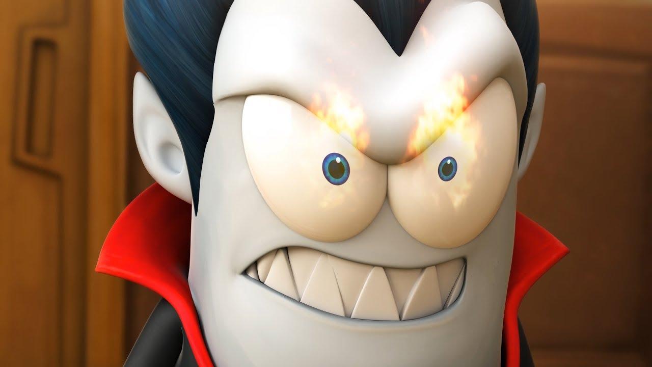 Spookiz fire in his eyes 스푸키즈 zombie cartoon kids