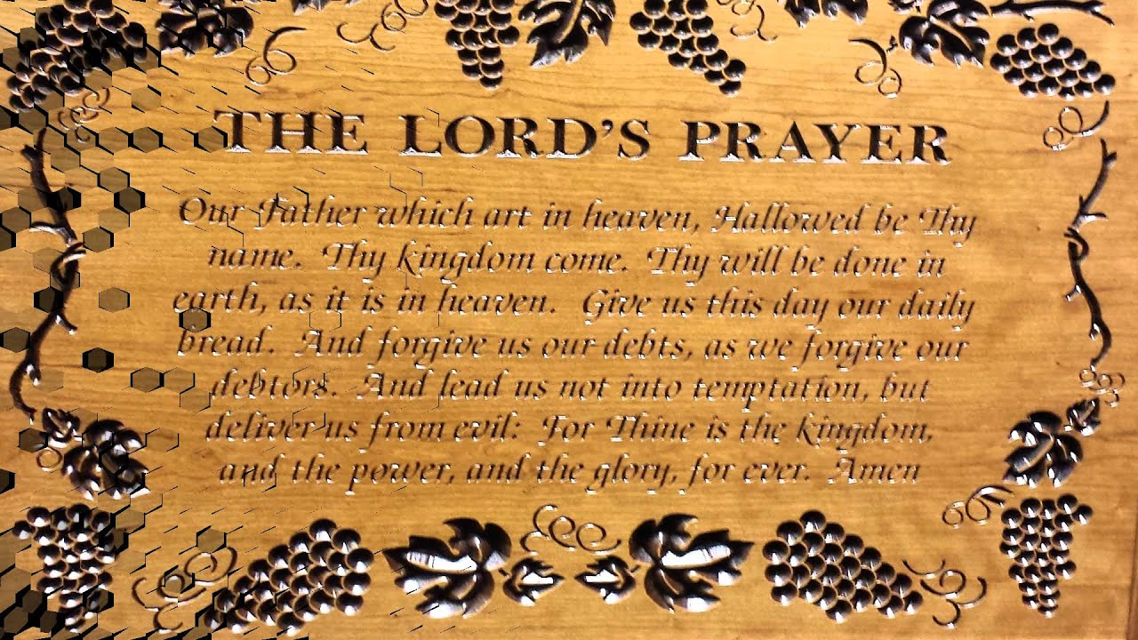 prophecy the lords prayer jesus is coming youtube