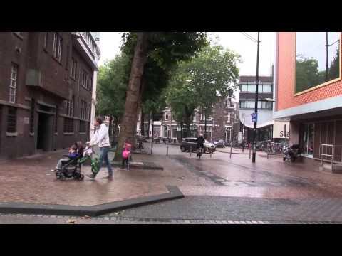 Walking in Nijmegen (The Netherlands)