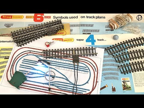 Tri-ang Hornby Track Plan along with a few other  bits and pieces on the layout