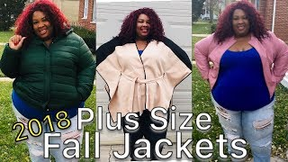 Plus Size Fall Jackets & Outerwear Haul & Try On 2018