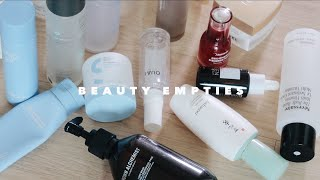 2020 BEAUTY EMPTIES • Lots of Korean Skincare! Worth it?!🗑️