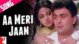 Aa Meri Jaan Song | Chandni | Rishi Kapoor | Sridevi | Lata Mangeshkar