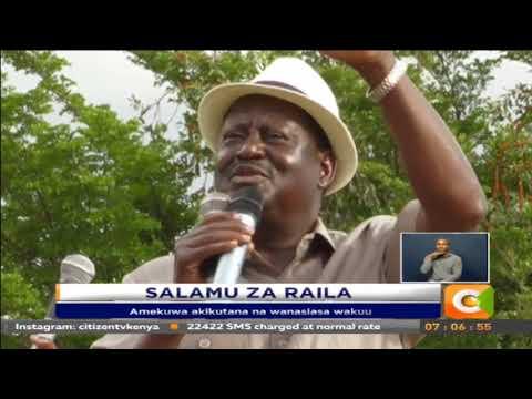 Raila: Niliingia Jubilee ili nikalete nyama