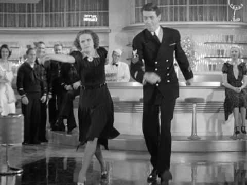 Buddy Ebsen, Eleanor Powell, James Stewart, Una Merkel and Sid Silvers in Born to Dance
