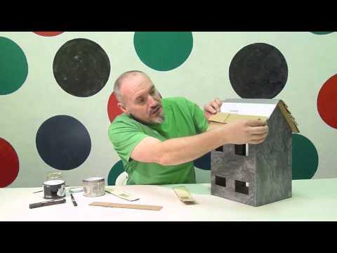 Making Cardboard Dollhouse Youtube