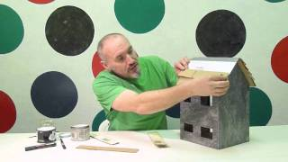 Making Cardboard Dollhouse