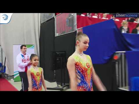 REPLAY: 2017 ACRO Europeans - Juniors finals day 4