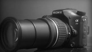 مراجعة الكاميرا سوني Review Sony a77