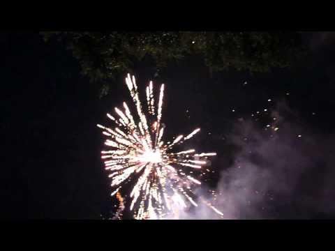 2015 backyard fireworks show youtube