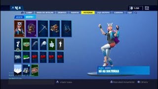 Buying my first skin at Fortnite