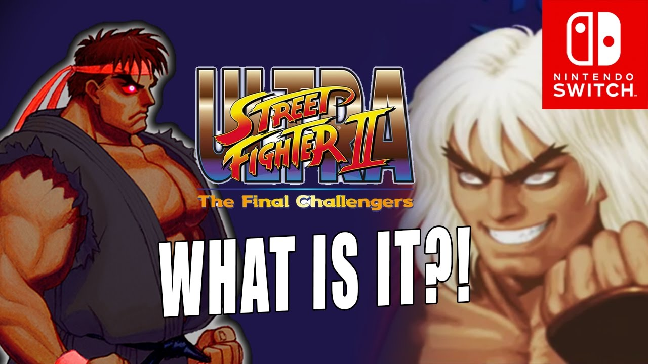 ULTRA STREET FIGHTER 2 Violent Ken Evil Ryu Nintendo Switch Breakdown by Maximilian