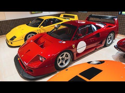 日本一のスーパーカーコレクションで【10億円】フェラーリF40LMと普通のF40【2億円】と比べてみた。[#104]