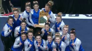 Boise State gymnastic Highlights from the 2017 MRGC Championships