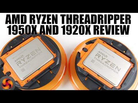 AMD Ryzen Threadripper 1950X and 1920X - Intel dethroned!