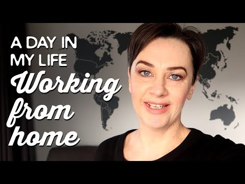 Day in My Life Working From Home | A Thousand Words