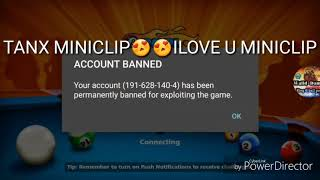 Whât Walid account has banned 🤔 why miniclip has banning the legend's account