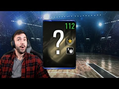 THE FIRST 112 OVR PLAYER IN NBA LIVE MOBILE