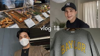【Vlog】28歳男性会社員、アートに触れ、家を探し、古着を買う