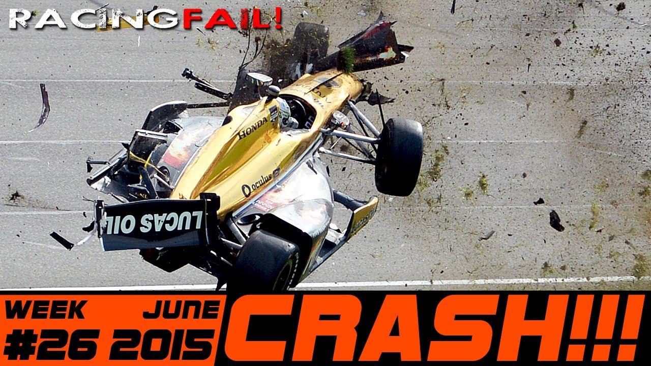 Racing And Rally Crash Compilation Week 26 June 2015