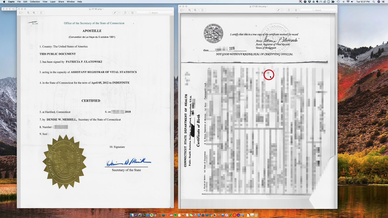 Requesting a Certificate