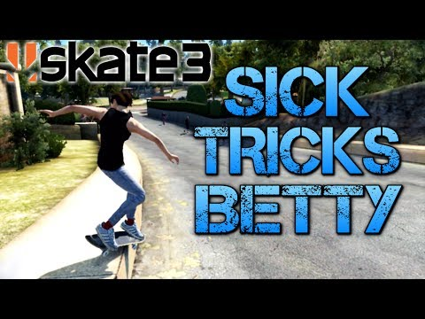 Skate 3 - Part 11 | SICK TRICKS BETTY | Playing on easy mode from YouTube · Duration:  14 minutes