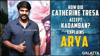 Arya Explains How CatherineTeresa Accept # Kadamban?