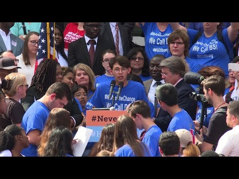 Florida students urge lawmakers to enact tougher gun laws
