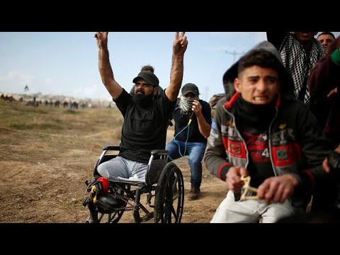 ثائر غزة إبراهيم أبو ثريا يسقط برصاص قناص إسرائيلي  - نشر قبل 7 ساعة
