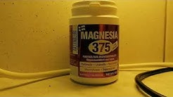 Lisäravinne Magnesium on hyvä jos tule kramppi