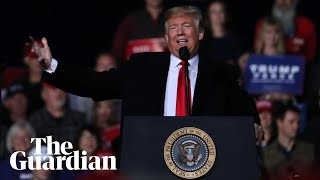 Laughter as Trump lauds politician's body slam of Guardian journalist