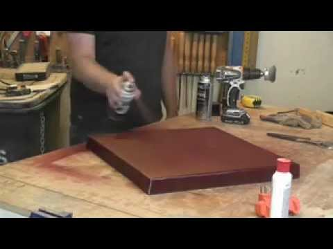 how to make a metal table top