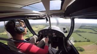 Flying Solo - Ikarus C42