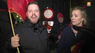 Første Fanmarch for Mette og Lasse: Følg dem!