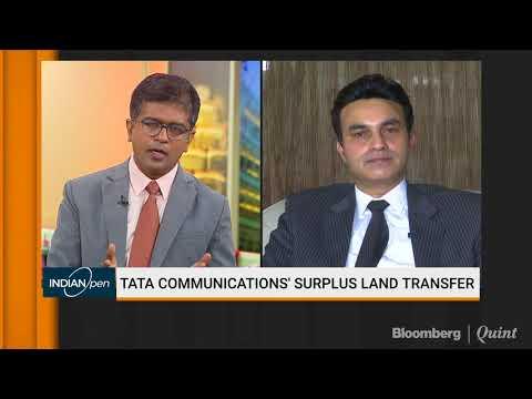 Saurabh Tiwari On Tata Communications' Surplus Land Transfer