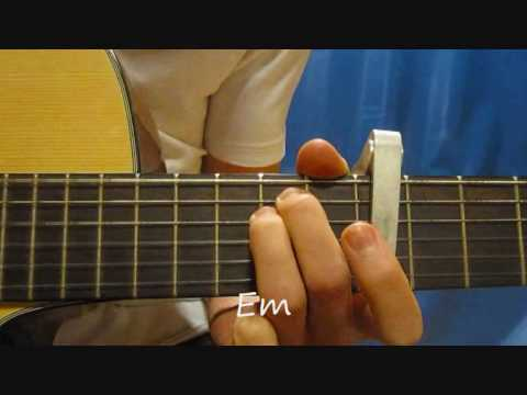 how to play - ayo technology - milow - on guitar - guitar lesson - gratismuziekschool.nl